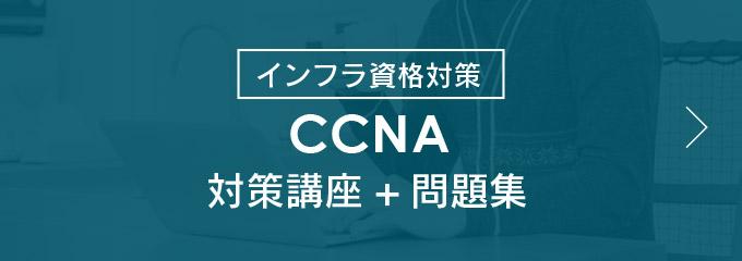 インフラ対策資格 CCNA対策講座+問題集